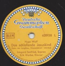 Sopran  Irmgard Seefried + Erik Werba : das schlafende Jesuskind - Hugo Wolf