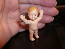 NAKED STANDING BABY BOY  - PLASTIC - DOLL HOUSE MINIATURE