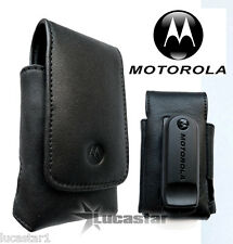 Funda Original Motorola V3x Piel Negra
