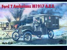 Ford t ambulance M1917 a.e. f, rpm, échelle 1/48