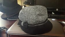 Betmar New York Leonora Cap-1SFM-Black Multi-NWT