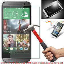 TEMPERED GORILLA GLASS SCREEN PROTECTOR For HTC One M8 USA