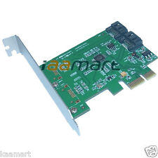 New 2 eSATA SATA 3.0 to PCI-E PCI Express Card Adapter Converter 6.0Gbps