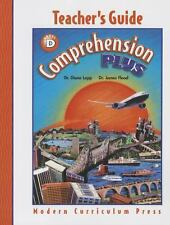 COMPREHENSION PLUS, LEVEL D, TEACHER EDITION, MODERN CURRICULUM PRESS, Good Book
