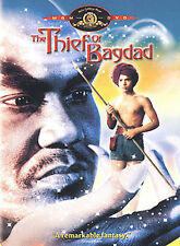 THE THIEF OF BAGDAD DVD -LIKE NEW-NO TAX-RARE OUT OF PRINT MGM RELEASE-FREE SHIP