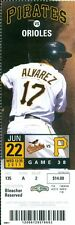 2011 Pirates vs Orioles Ticket: Andrew McCutchen had two hits, a run and an RBI