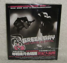 Green Day Awesome As F**K Taiwan CD+DVD+20P w/BOX