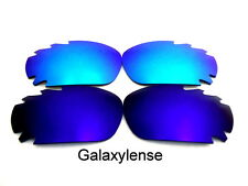 Galaxie Verres De Rechange Pour Oakley Jawbone Bleu et glace polarisé 2 Paires