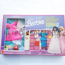 VINTAGE BARBIE MATTEL - Fashion Trunk - Baule Armadio - Malle Voyage - MISB NEW