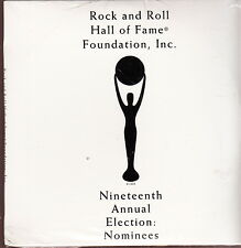 rock & roll hall of fame 19Th election cd new zz top george harrison prince