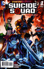 NEW SUICIDE SQUAD #1  2nd PRINT HARLEY QUINN JOKER'S DAUGHTER DC COMIC BOOK 2014