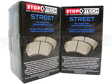 Stoptech Street Brake Pads (Front & Rear Set) for 08-15 Lancer Evolution EVO X