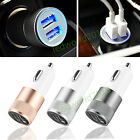 Dual USB Twin Port 12V/24V Universal In Car Charger Lighter Socket Adapter Plug