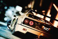Ferrari F40 White Car 24x36 Art Poster