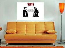 "THE BOONDOCK SAINTS 35""X25"" INCH MOSAIC TILE WALL POSTER PRAYER NORMAN REEDUS N2"