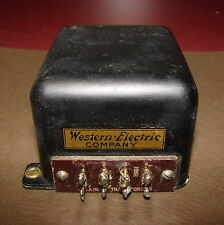 Western Electric Type 201A Input Transformer for Tube Amp, 1920s