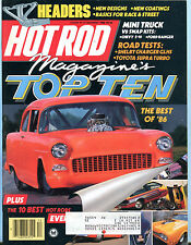 Hot Rod Magazine December 1986 Top Ten Best Of '86 EX 032116jhe
