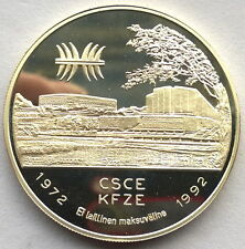 Finland 1992 Landscape 20 Ecu Silver Coin,Proof