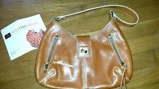 Rafe New York womens tan leather purse handbag
