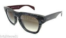 Authentic PRADA Black Grey Marble Sunglasses PR 05Q 05QS - DHP0A7  *NEW*