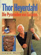 DIE PYRAMIDEN VON TUCUME - Peru Buch von Thor Heyerdahl - Langen Müller