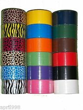 "18 Roll/Pack of Bazic Assorted Print, Bright and Solid Colors 1.89"" width tape"