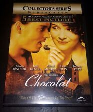 ** Chocolat Collector's Edition (Widescreen 5.1 DVD, 2001) ** With Johnny Depp