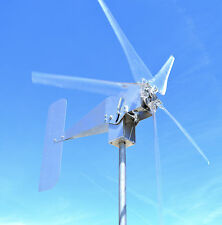 Typhoon GHOST Up Tilting Unibody CLEAR Wind Turbine Generator 5KT 48 Volt AC