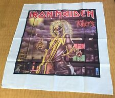 Iron Maiden Vintage Flag Rare Tapestry Original heavy metal nwobhm 80's