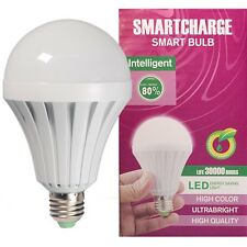 Rechargeable Intelligent Emergency LED Bulb Lamp Work After Blackout Nightlight