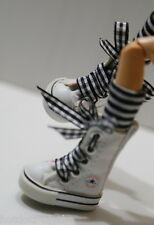 Custom Sneakers Shoes For Blythe/ Pullip/Monster High/Lalaloopsy/Dal - SN216, WH