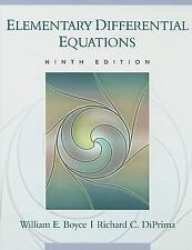 NEW - Elementary Differential Equations by Boyce; DiPrima, Richard C.