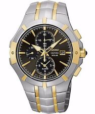 SEIKO COUTURA SOLAR MEN'S WATCH CHRONOGRAPH #SSC198 NEW IN BOX FREE SHIPPING