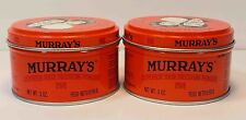 MURRAY'S (MURRAYS) SUPERIOR HAIRDRESSING POMADE *2LOT* (3OZ)