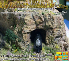 "Z Scale ""Natural Rock"" Tunnel Portal Scale Model Masterpieces*Brand NEW PRODUCT*"