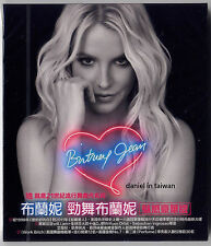 Britney Spears: Britney Jean - Deluxe Edition (2013) CD + UNFOLDED POSTER TAIWAN