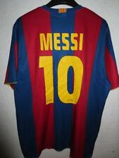 VINTAGE Maillot BARCELONE BARCELONA camiseta MESSI n°10 shirt XL