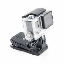 Rotary Backpack Strap Mount Belt Hat Clip Clamp Mount for GoPro Hero 2 3 3+ 4 5