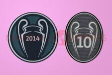 UEFA Champions League Winner 2014 + 10 Times Trophy Real Madrid Patch / Badge