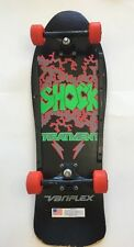 Wow Vintage RARE Awesome VARIFLEX SHOCK TREATMENT Skateboard 60mm Wheels Unique