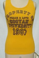 Cooyah University tank top juniors Size Medium Rasta Style Reggae Irie Jamaica