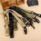 Military 2 Point Quick Release Rifle Gun Sling System Multi-function Strap Belt