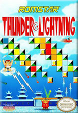 ***THUNDER AND LIGHTNING NES NINTENDO GAME COSMETIC WEAR~~~
