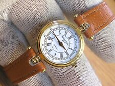 Jacques Edho Paris 18k Gold Plated Ladies Vintage Wrist Watch Easy to Read Dial