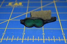 "1:6 scale Green Tinted Black Goggles Eyewear for 12"" Action Figures C-195"