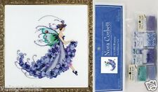 Mirabilia Counted Cross Stitch Chart with Embellishment Pack ~ WISTERIA #199