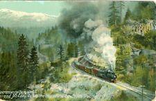 Sacramento, CA  Sacramento Canyon and Mt Eddy, On the Southern Pacific Line 1909