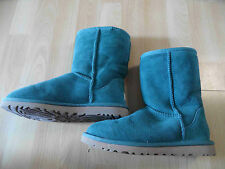 Ugg superbe peau LAINEE Boots s/n 5825 vert taille 36 w. Neuf th616
