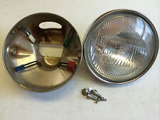 OEM headlight assembly from 1986 HONDA Shadow 1100 motorcycle -279 miles!!