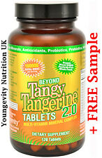 Beyond Tangy Tangerine 2.0 Tablets, Youngevity organic multi vitamin + Sample